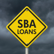 SBA loans sign graphic